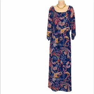 Euc Bisou Bisou maxi dress size 6